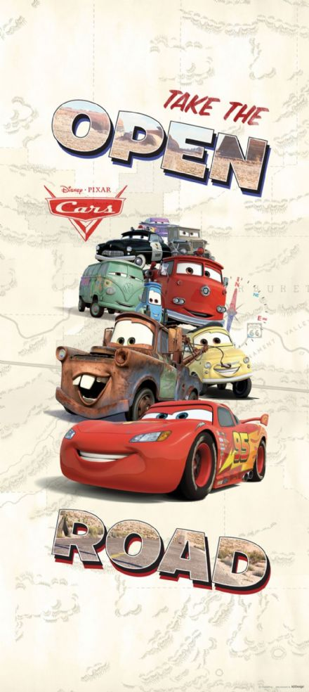 Disney Cars mural wallpaper 90x202cm
